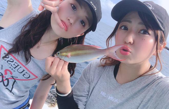 오키나와 특유의 깨끗한 바다에서 낚시를 즐기시길 바랍니다.