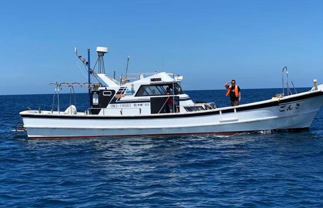 安定感卓越的钓船「海兔丸」「珊瑚丸」