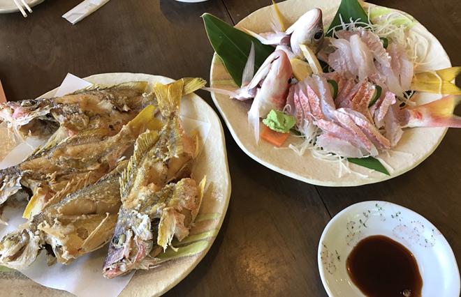 可以请当地的食堂调理鲜鱼后享用