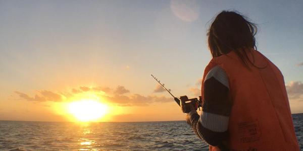 西海岸夕阳超值钓鱼行程